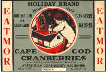 Holiday Brand label