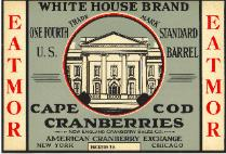 White House Brand label